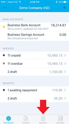 xero-app-receipts-admin-army-bookkeeping-virtual-assistants-xero-app-receipts