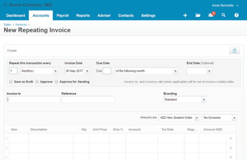 xero-repeating-invoice-details-admin-army-bookkeeping-virtual-assistants-xero-repeating-invoice-details